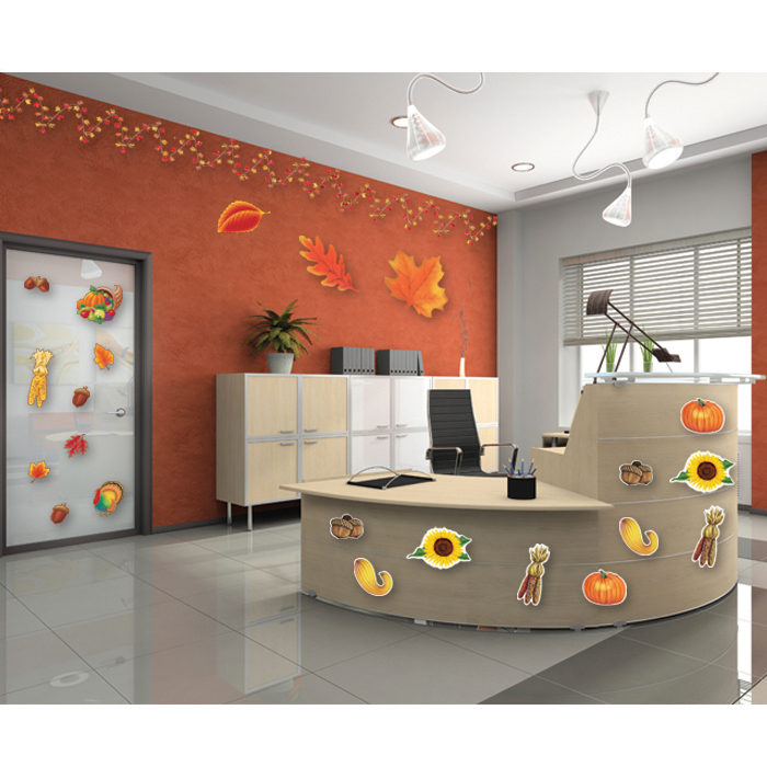 Decorating Ideas Thanksgiving Office Kit 210233