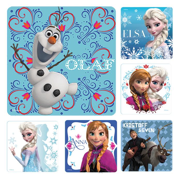 Disney S Frozen Stickers