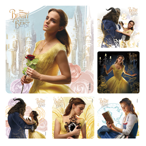 Beauty and the Beast Movie Stickers