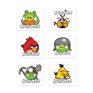 ANGRY BIRDS TATTOOS