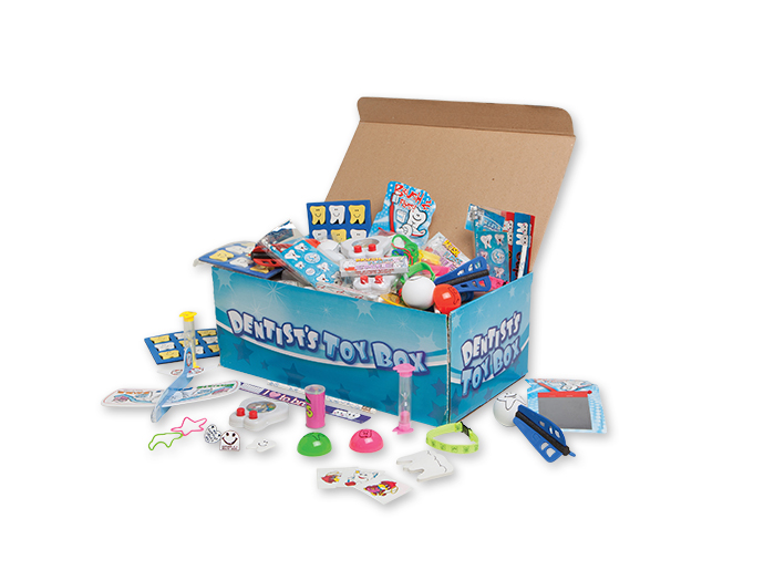 dental toy mix treasure chest