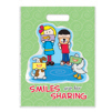 Large Sharing Smiles Full Color Bag