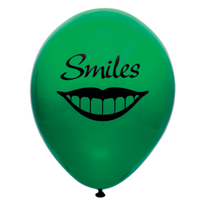 Smiles Imprinted Balloon