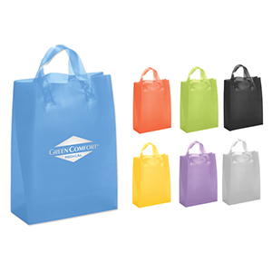 Brite Custom Frosted Shopping Bag