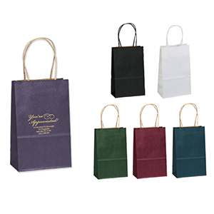 Matte Finish Personalized Paper Bag