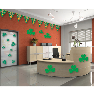 St. Patrick's Day Office Decorating Kit