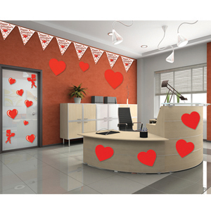 Valentine's Day Office Decorating Kit