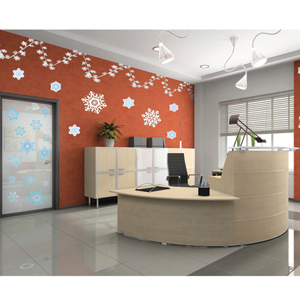 Winter Office Decorating Kit