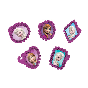 Frozen Jewel Rings