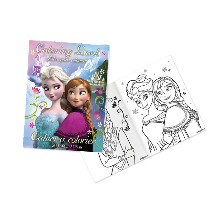 - Frozen Coloring Book