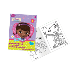 Doc McStuffins Coloring Book