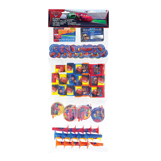 Cars 100 Piece Toy Mix