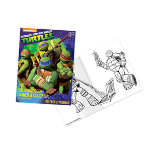 TMNT Coloring Book