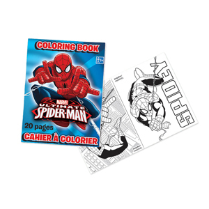 Spider-Man Coloring Book