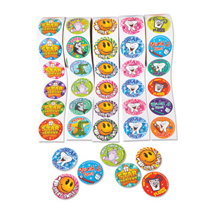 Dental Sticker Assortment (500)