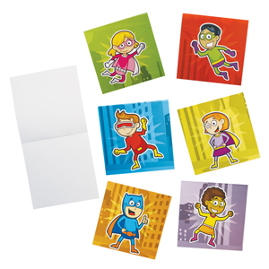 Super Hero Note Pads
