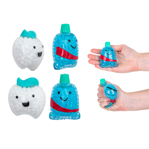 "3"" Squeezy Dental Characters"