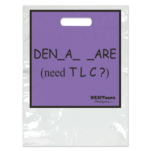 Dentoons TLC Two Color Bag - Large