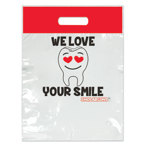 Emolarcon Love Your Smile Two Color Bag - Large