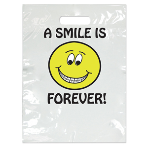 Orthodontic Smile is Forever Large 2-Color Bag