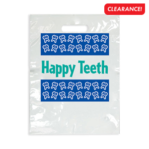 Large Happy Teeth Bag