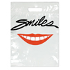 Large Red Lips Smiles Bag