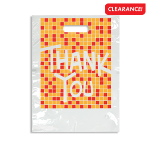 Large Thank You Tile Bag