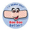 Boo Boo Better Medical Stickers