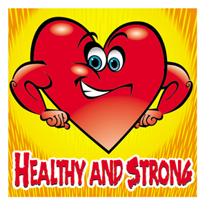 Healthy and Strong Medical Sticker