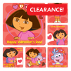 Dora the Explorer Valentine Stickers