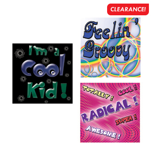 Cool Phrases Stickers