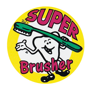 Super Brusher Stickers