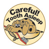 Teeth Asleep Stickers