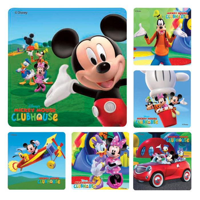 5b957fdaa96 Mickey Mouse Clubhouse Stickers View Larger Photo ...