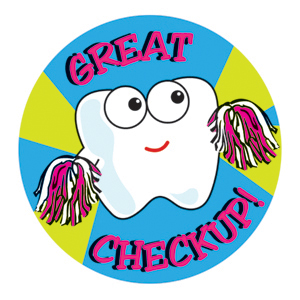Great Checkup! Stickers
