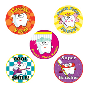 Dental Stickers Assortment