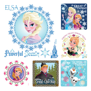 Frozen Dental Stickers