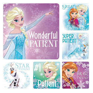 Disney Frozen Patient Stickers