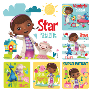 Doc McStuffins Medical Stickers