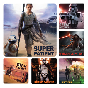 Star Wars: The Force Awakens Medical Stickers