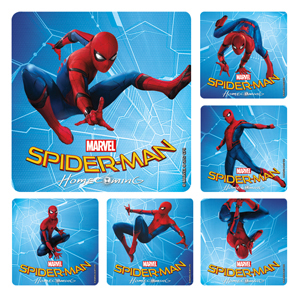 Marvel Spider-Man 3 Homecoming Stickers