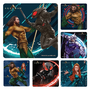 Aquaman Stickers