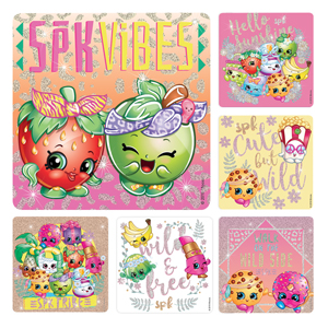 Shopkins Glitter Stickers
