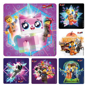 Lego Movie 2 Stickers