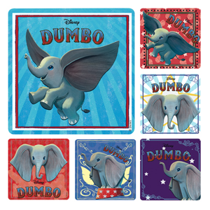Dumbo Live Action Stickers