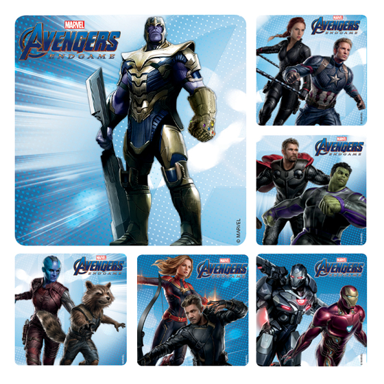 Avengers 4: End Game Stickers
