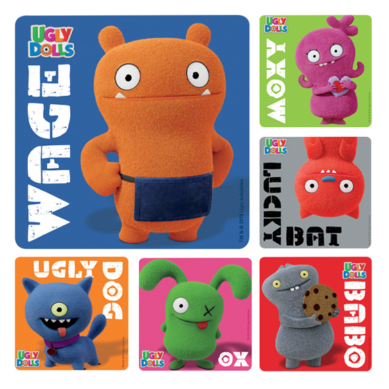Ugly Dolls Stickers