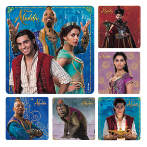 Aladdin Live Action Movie Stickers