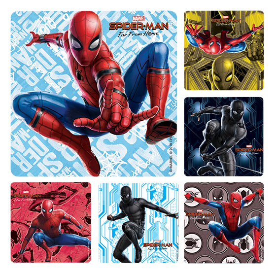 Spider-Man Far From Home Stickers