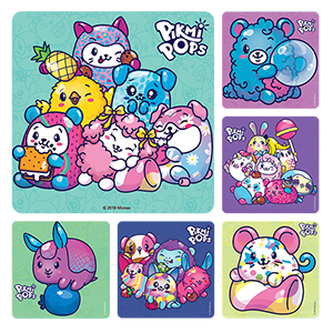 Pikmi Pops Stickers